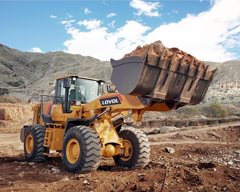 轮胎式装载机安全施工操作规程
