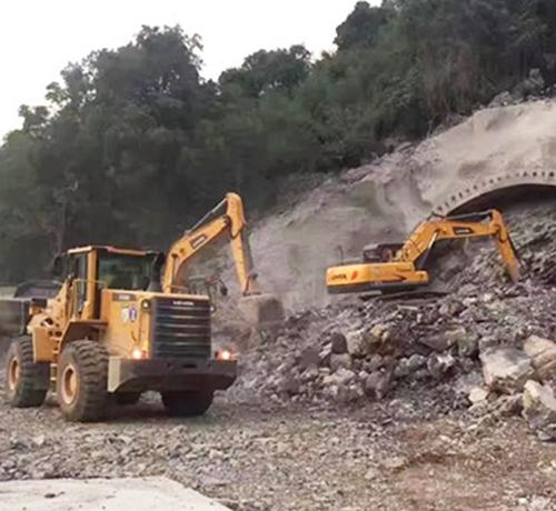 福建隧道开采施工工程