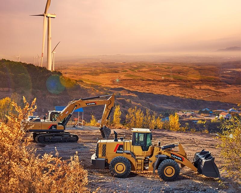 浅析装载机的主要部件与工作装置