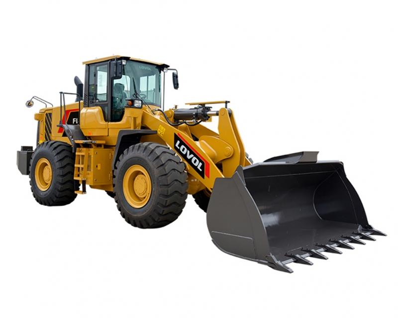 挖掘装载机结构特点: